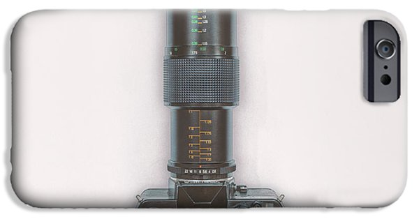 Yashica Fx-3 With 90mm Lens IPhone Case by Scott Norris