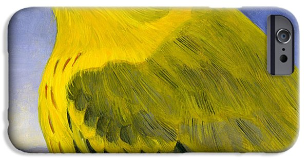 Yellow Warbler IPhone Case by Francois Girard