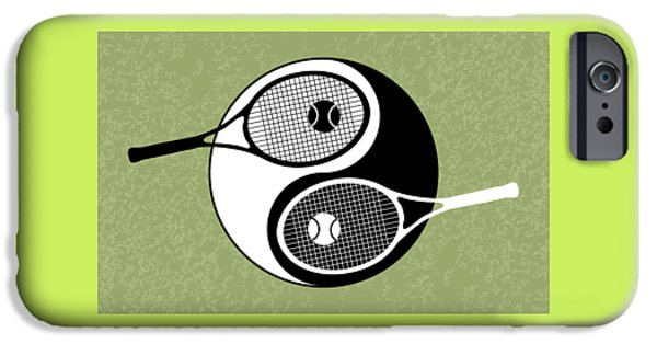 Yin Yang Tennis IPhone 6s Case by Carlos Vieira