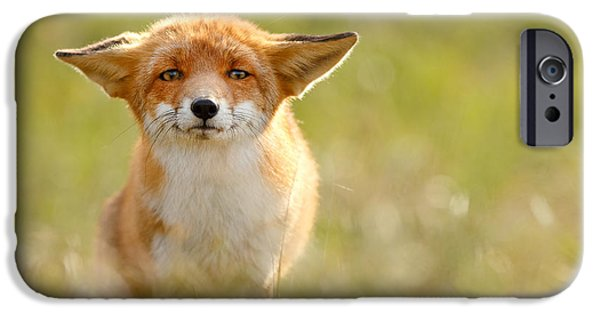 Yoda - Funny Fox IPhone Case by Roeselien Raimond