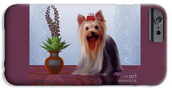 Yorkshire Terrier IPhone Case by Corey Ford