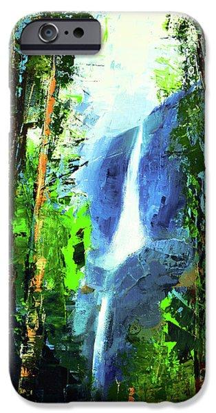Yosemite Falls IPhone Case by Elise Palmigiani