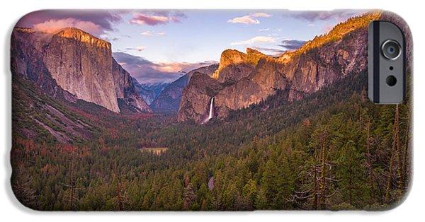 Yosemite Valley Spring Sunset IPhone Case by Scott McGuire