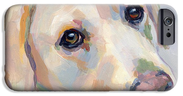 Young Man IPhone Case by Kimberly Santini