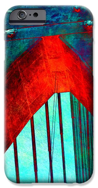 Zakim Bridge Boston V5 IPhone Case by Brandi Fitzgerald