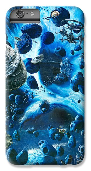 Alien Pirates  IPhone 6s Plus Case by Murphy Elliott