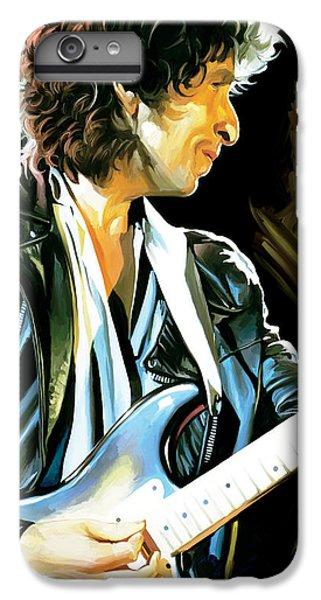 Bob Dylan Artwork 2 IPhone 6s Plus Case by Sheraz A