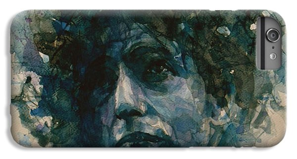 Bob Dylan IPhone 6s Plus Case by Paul Lovering