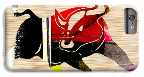 Bull IPhone 6s Plus Case by Marvin Blaine
