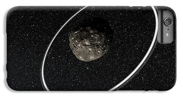 Chariklo Minor Planet And Rings IPhone 6s Plus Case by European Southern Observatory