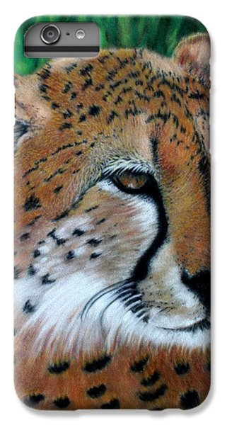 Cheetah IPhone 6s Plus Case by Carol McCarty