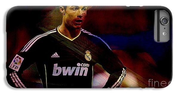 Cristiano Ronaldo IPhone 6s Plus Case by Marvin Blaine