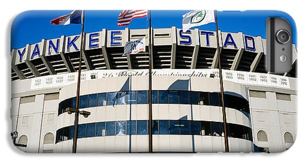 Flags In Front Of A Stadium, Yankee IPhone 6s Plus Case by Panoramic Images