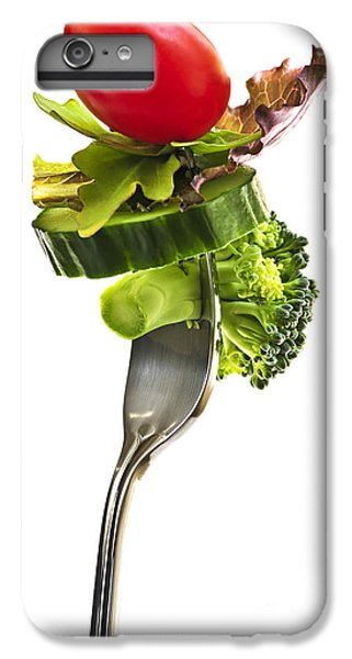 Fresh Vegetables On A Fork IPhone 6s Plus Case by Elena Elisseeva