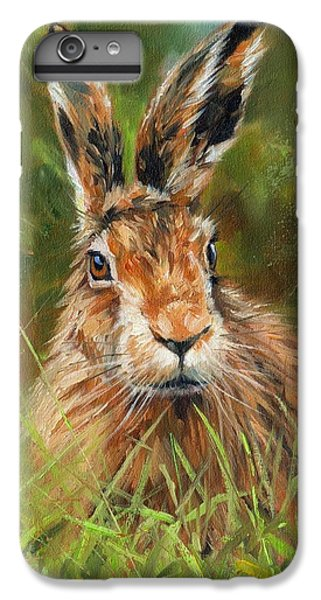 hARE IPhone 6s Plus Case by David Stribbling