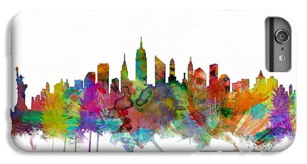 New York City Skyline IPhone 6s Plus Case by Michael Tompsett