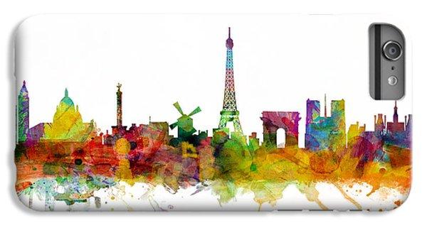Paris France Skyline IPhone 6s Plus Case by Michael Tompsett