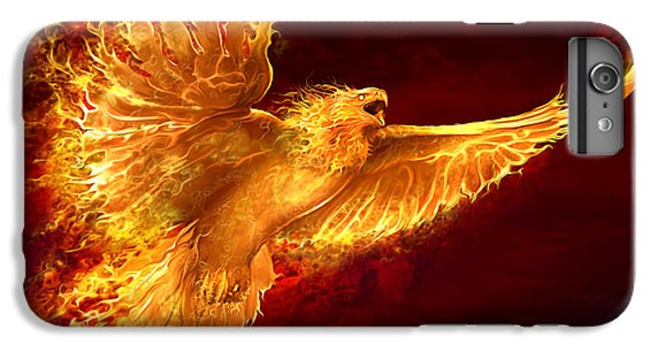 Phoenix Rising IPhone 6s Plus Case by Tom Wood