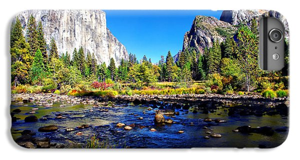 Valley View Yosemite National Park IPhone 6s Plus Case by Scott McGuire