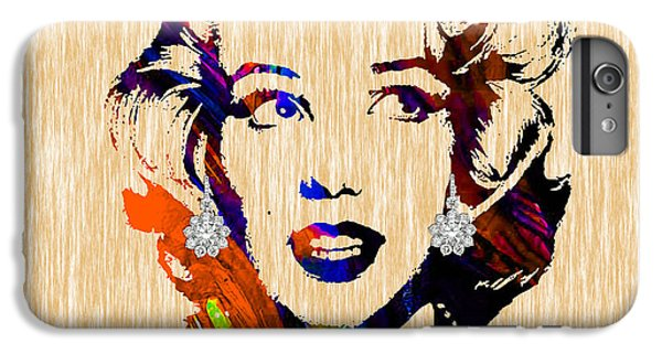 Marilyn Monroe Diamond Earring Collection IPhone 6s Plus Case by Marvin Blaine