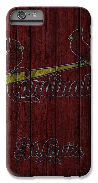 St Louis Cardinals IPhone 6s Plus Case by Joe Hamilton