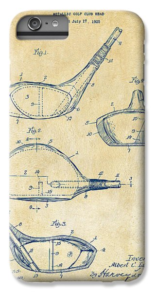 1926 Golf Club Patent Artwork - Vintage IPhone 6s Plus Case by Nikki Marie Smith