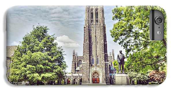 Duke Chapel In Spring IPhone 6s Plus Case by Emily Kay