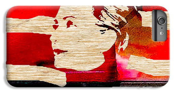 Hillary Clinton IPhone 6s Plus Case by Marvin Blaine