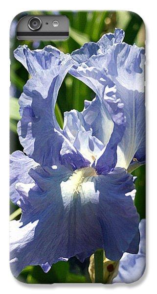 Purple Bearded Iris IPhone 6s Plus Case by Ellen Henneke