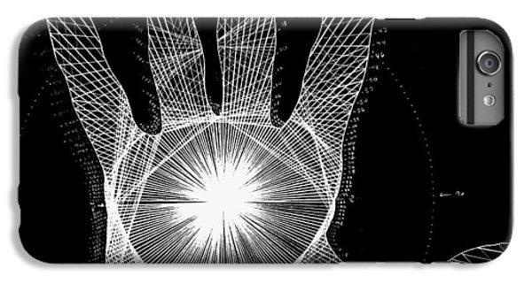 Quantum Hand Through My Eyes IPhone 6s Plus Case by Jason Padgett
