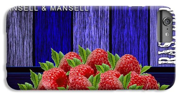 Raspberry Fields IPhone 6s Plus Case by Marvin Blaine