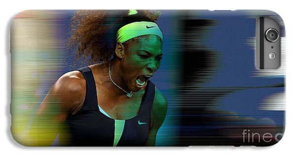 Serena Williams IPhone 6s Plus Case by Marvin Blaine