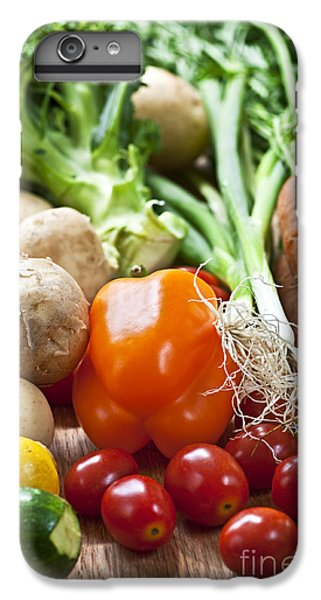 Vegetables IPhone 6s Plus Case by Elena Elisseeva