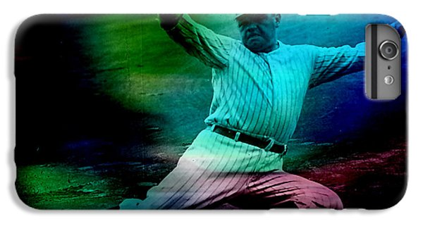 Babe Ruth IPhone 6s Plus Case by Marvin Blaine