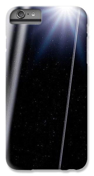 Chariklo Minor Planet And Rings IPhone 6s Plus Case by Detlev Van Ravenswaay