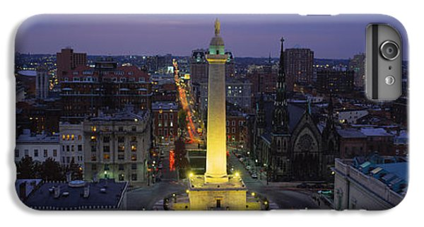 High Angle View Of A Monument IPhone 6s Plus Case by Panoramic Images