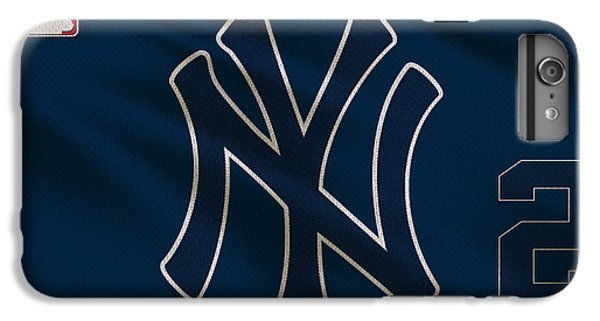 New York Yankees Derek Jeter IPhone 6s Plus Case by Joe Hamilton