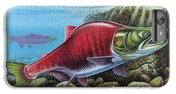 Sockeye Salmon IPhone 6s Plus Case by JQ Licensing