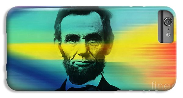 Abraham Lincoln IPhone 6s Plus Case by Marvin Blaine