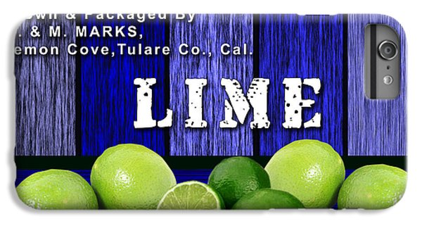 Lime Farm IPhone 6s Plus Case by Marvin Blaine