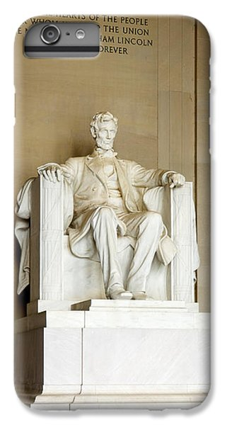 Abraham Lincolns Statue In A Memorial IPhone 6s Plus Case by Panoramic Images
