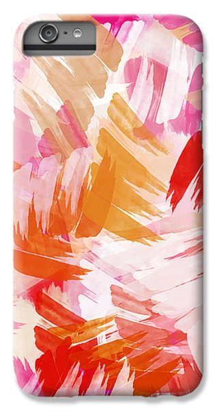 Abstract Paint Pattern IPhone 6s Plus Case by Christina Rollo