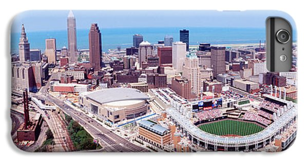 Aerial View Of Jacobs Field, Cleveland IPhone 6s Plus Case by Panoramic Images