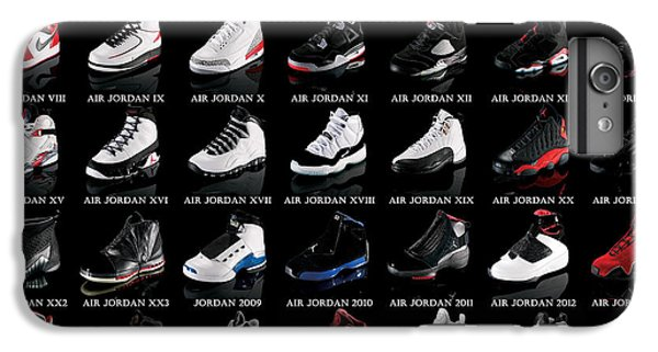 Air Jordan Shoe Gallery IPhone 6s Plus Case by Brian Reaves