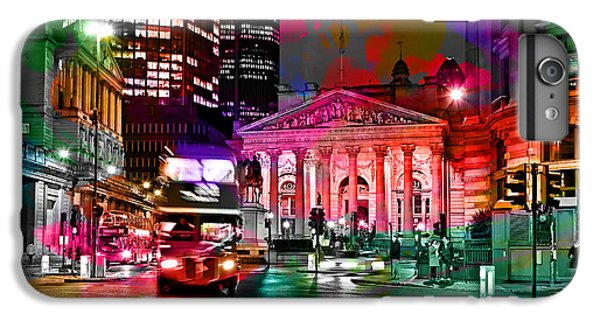 Albany New York Skyline Painting IPhone 6s Plus Case by Marvin Blaine
