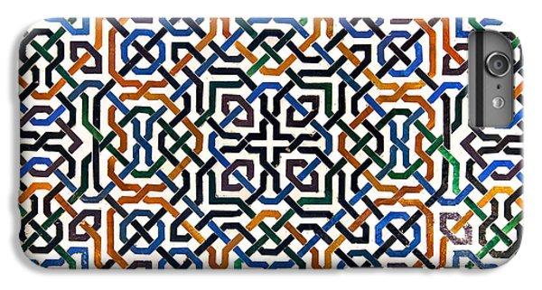 Alhambra Tile Detail IPhone 6s Plus Case by Jane Rix