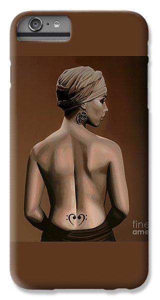 Alicia Keys  IPhone 6s Plus Case by Paul Meijering