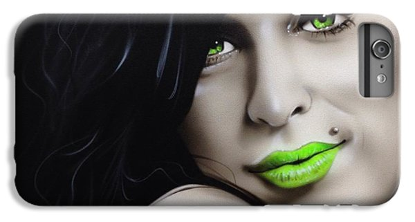 Amy Winehouse - 'amy Jade' IPhone 6s Plus Case by Christian Chapman Art