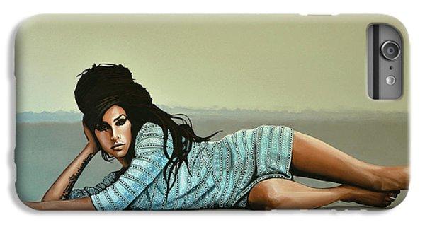 Amy Winehouse 2 IPhone 6s Plus Case by Paul Meijering