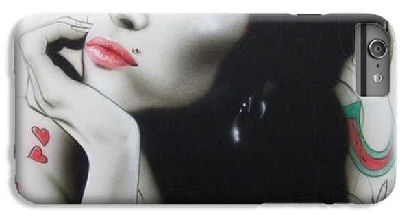 'amy Your Music Will Echo Forever' IPhone 6s Plus Case by Christian Chapman Art
